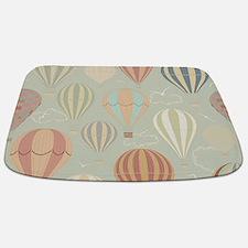Vintage Hot Air Balloons Bathmat