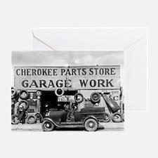 Cherokee Parts Store Greeting Card