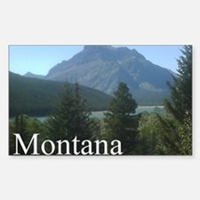 Montana the best place... peri Decal