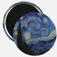 The Starry Night Magnet