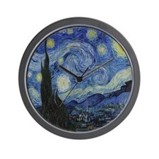 The Starry Night Wall Clock