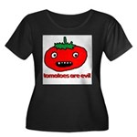Evil Tomato Women's Plus Size Scoop