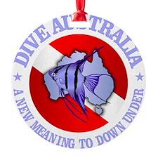 Dive Australia (rd) Ornament