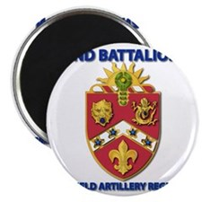 T-Shirt - Army - 2nd Bn - 3rd FA Regiment Magnet