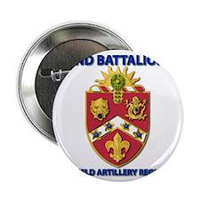 """T-Shirt - Army - 2nd Bn - 3rd FA Regi 2.25"""" Button"""