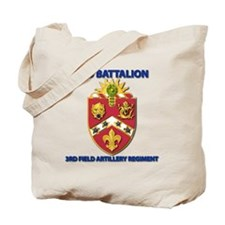 T-Shirt - Army - 2nd Bn - 3rd FA Regiment Tote Bag
