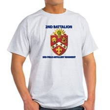 T-Shirt - Army - 2nd Bn - 3rd FA Reg T-Shirt
