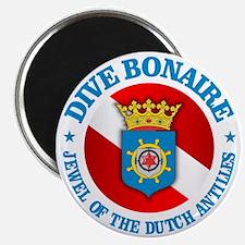 Dive Bonaire (rd) Magnet