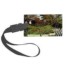 Exotic Landscape Luggage Tag