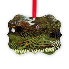 Exotic Landscape Ornament