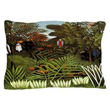 Exotic Landscape Pillow Case