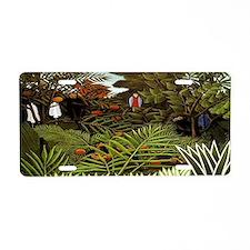 Exotic Landscape Aluminum License Plate