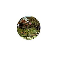 Exotic Landscape Mini Button