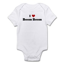 I Love Boom Boom Infant Bodysuit