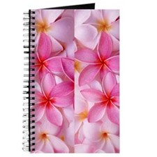 Pink Tropical Plumeria Journal