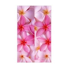 Pink Tropical Plumeria Decal
