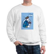 Happy Tartan Day Bagpiper Greeting Card Sweatshirt