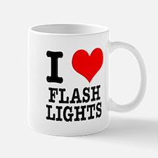 I Heart (Love) Flashlights Mug