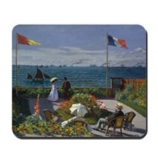Jardin at Sainte Adresse Mousepad