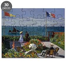 Jardin at Sainte Adresse Puzzle
