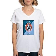 Tartan Day Scotland Bagpiper Greeting Card T-Shirt