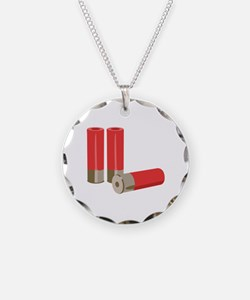 Shotgun Shells Ammo Necklace