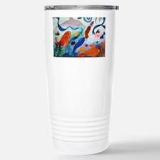 Mermaid  Tropical Fish  Stainless Steel Travel Mug