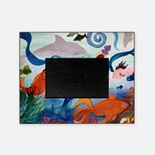 Mermaid  Tropical Fish party Picture Frame