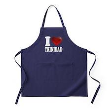 I Heart Trinidad Apron (dark)