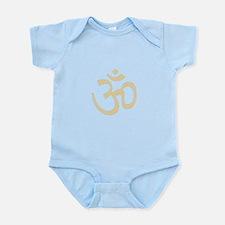 Yoga Ohm, Om Symbol, Namaste Infant Bodysuit