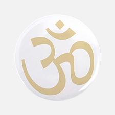 """Yoga Ohm, Om Symbol, Namaste 3.5"""" Button (100 pack"""