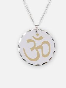 Yoga Ohm, Om Symbol, Namaste Necklace