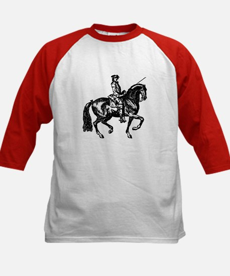 The Baroque Horse Kids Baseball Jersey