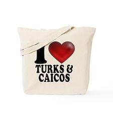 I Heart Turks and Caicos Tote Bag