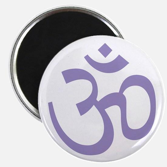 """Yoga Ohm, Om Symbol, Namaste 2.25"""" Magnet (10 pack"""