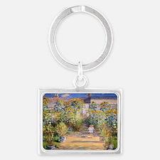 Artists Garden Landscape Keychain