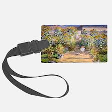 Artists Garden Luggage Tag