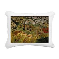 Jungle Storm Rectangular Canvas Pillow