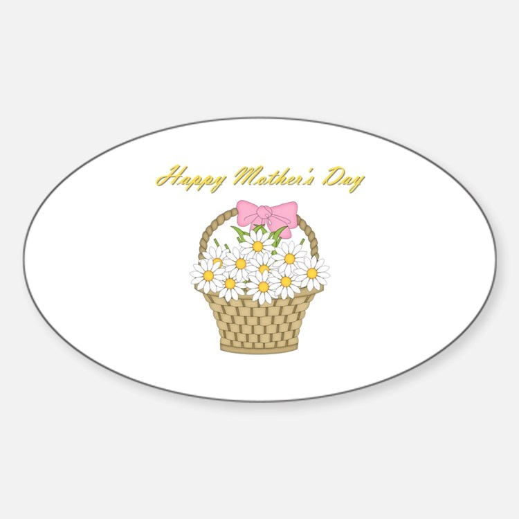 Happy Mother's Day (white daisies) Decal