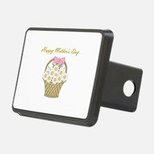 Happy Mother's Day (white daisies) Hitch Cover