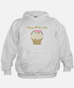 Happy Mother's Day (white daisies) Hoodie
