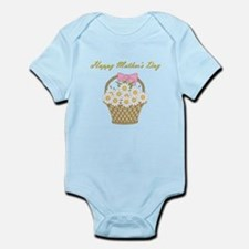 Happy Mother's Day (white daisies) Infant Bodysuit
