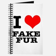 I Heart (Love) Fake Fur Journal