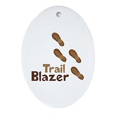 Trail Blazer Ornament (Oval)