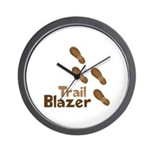 Trail Blazer Wall Clock