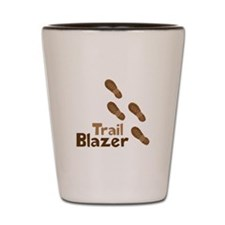 Trail Blazer Shot Glass