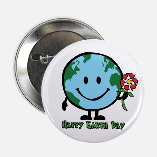 Happy Earth Day Button