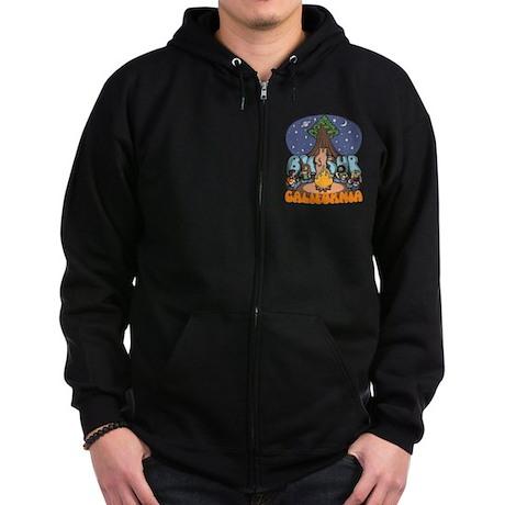 Big Sur III Zip Hoodie (dark)