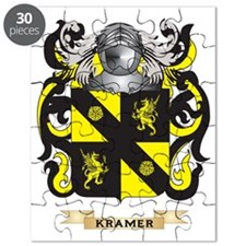 Kramer Coat of Arms - Family Crest Puzzle