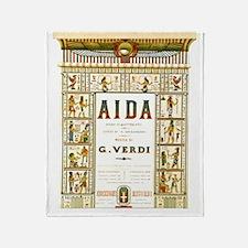AIDA by G.Verdi Throw Blanket